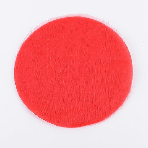 RED Pre Cut 9 Inch Premium Tulle Circles 25 Pieces