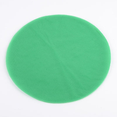 Emerald Pre Cut 9 Inch Premium Tulle Circles 25 Pieces