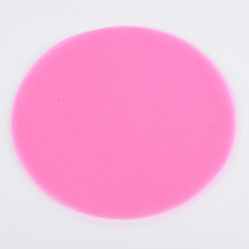 Shocking Pink Pre Cut 9 Inch Premium Tulle Circles 25 Pieces