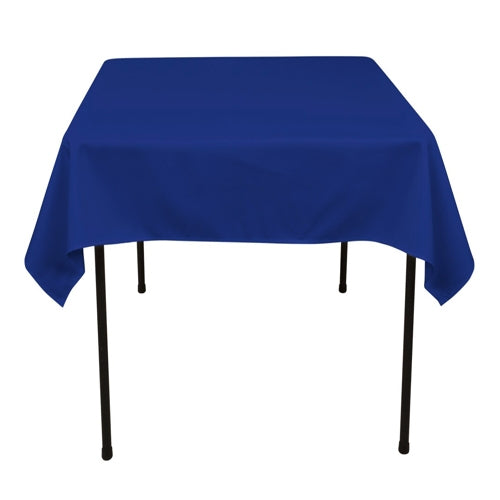 ROYAL BLUE 52 x 52 Inch POLYESTER SQUARE Tablecloths