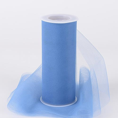 Periwinkle 18 Inch Tulle Roll 25 Yards