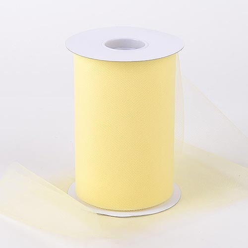 Baby Maize 6 Inch Tulle Roll 100 Yards