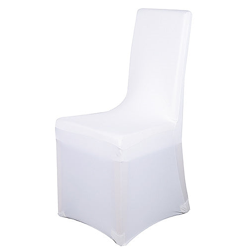 Spandex Chair Cover WHITE