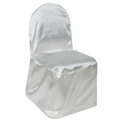 IVORY SATIN Banquet Chair Cover