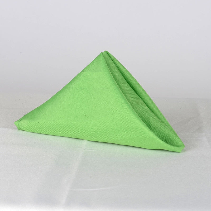 Apple Green - 17 x 17 Polyester Napkins - ( 17 x 17 - 5 Pieces | 5 Napkins )