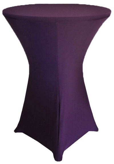 PLUM Spandex Cocktail Tablecloths