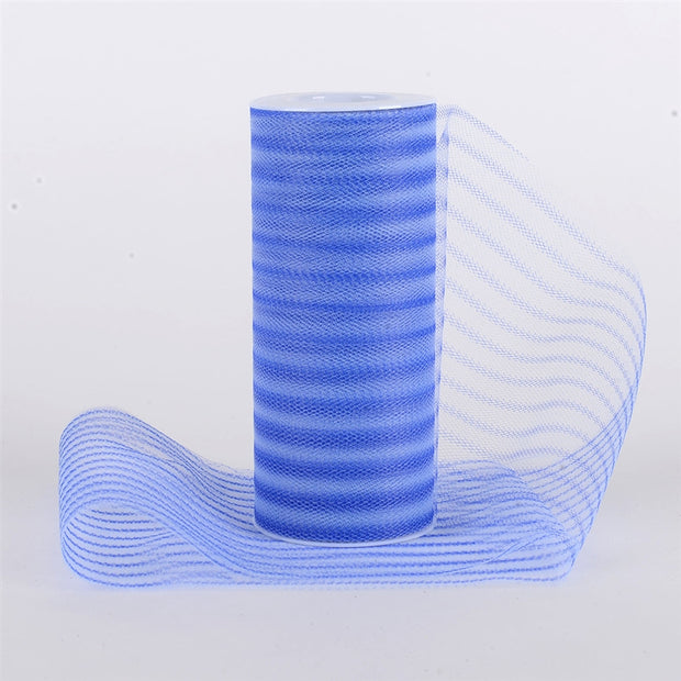 Multi Striped Tulle ROYAL BLUE