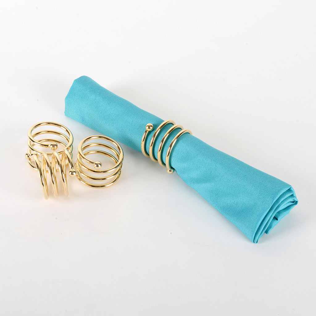 Napkin Rings NR027G - 4pcs