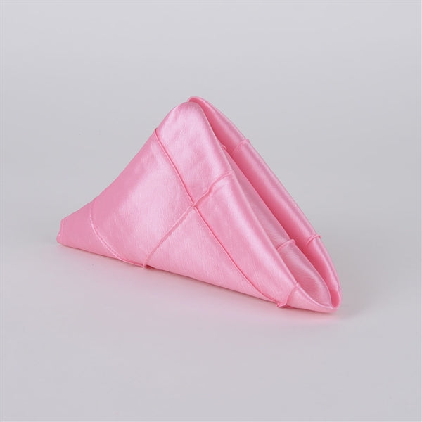 Pink PINTUCK Napkins ( Pack of 5 )