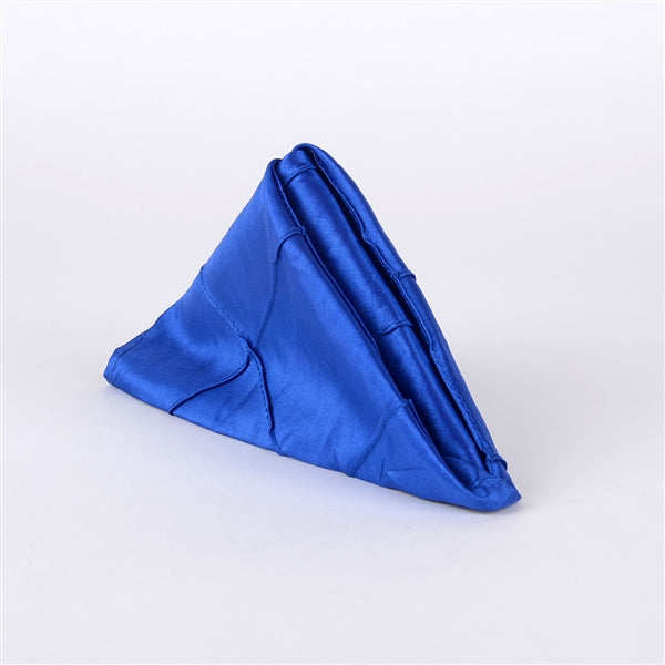 ROYAL BLUE PINTUCK Napkins ( Pack of 5 )