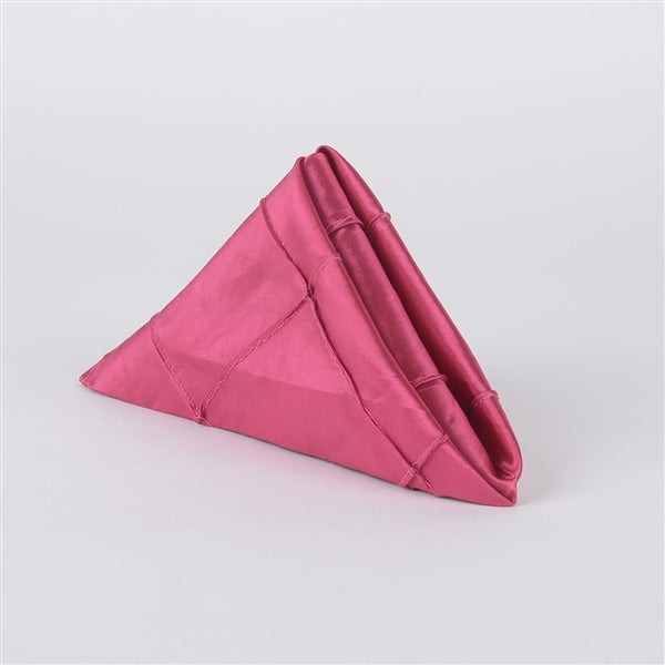 FUCHSIA PINTUCK Napkins ( Pack of 5 )