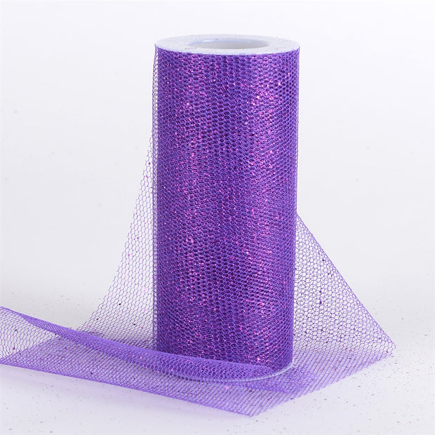 PURPLE Glitter Net 6x10 Yards