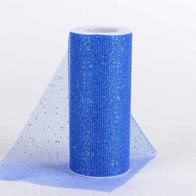 ROYAL BLUE Glitter Net 6x10 Yards
