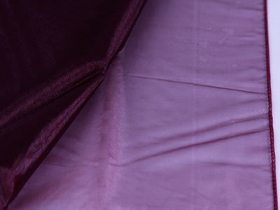 BURGUNDY Wedding ORGANZA Fabric Decor 58x10 Yards
