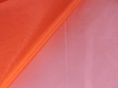 ORANGE Wedding ORGANZA Fabric Decor 58x10 Yards - XB23719