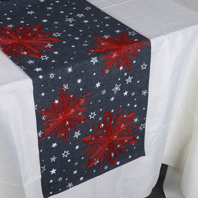 Winter Collection 13x90 Inch Table Runner W02
