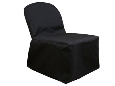 BLACK Banquet Chair Cover POLYESTER