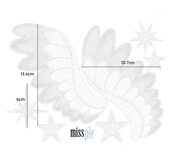 Angel Wings Wall Decals