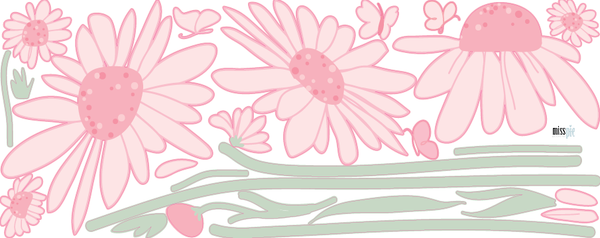 Daisy Decals - Large