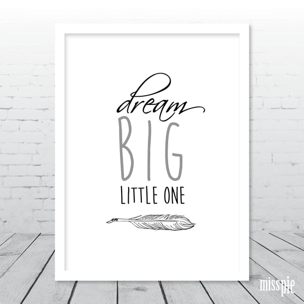 Boho Dream Big little One Print