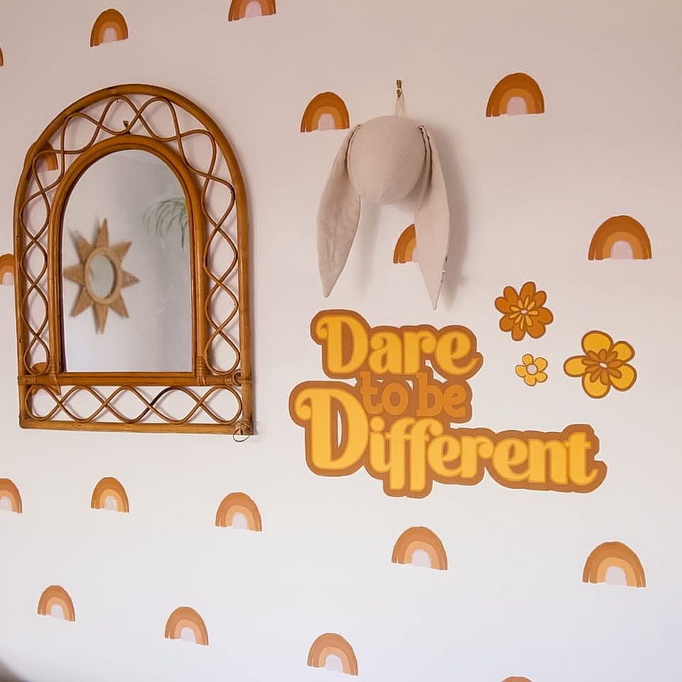 Dare to be different Wall Decal