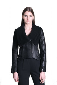 Lancy Leather Jacket