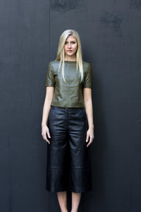 Jasmine Leather Top