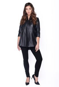 Leah Leather Jacket