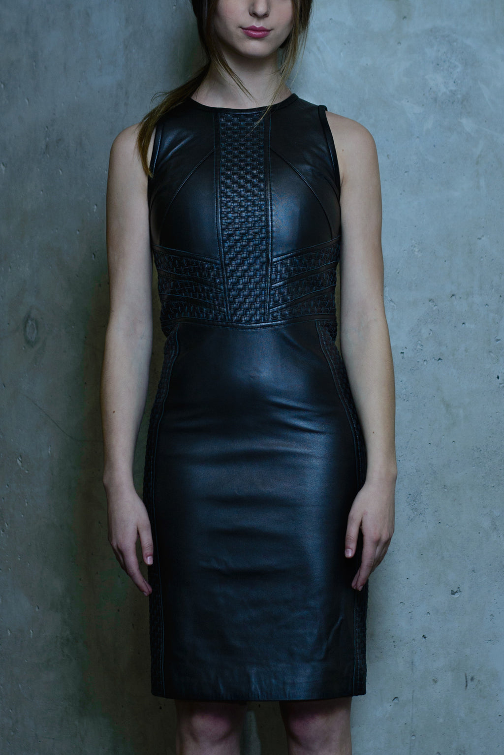 Mercy Leather Dress