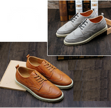 Men Casual Retro Leather Shoes