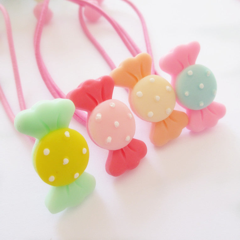 Bow Shaped Rubber Bands | meemu.com | Kids fashion, accessories