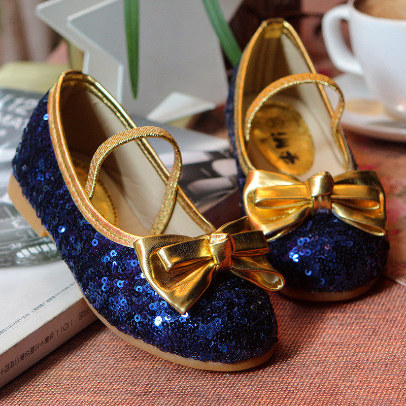 Sparkle Blue Party Shoes | meemu.com | Kids fashion, accessories