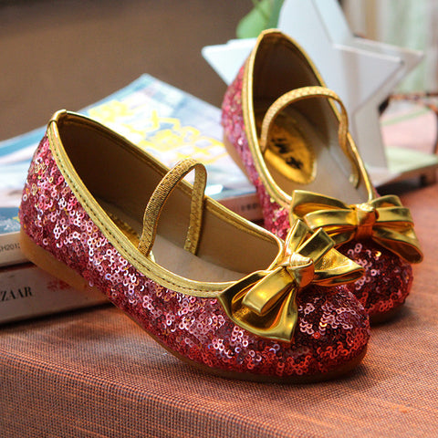 Sparkle Rose Red Party Shoes | meemu.com | Kids fashion, accessories