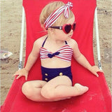 Stripes Tankini with headband