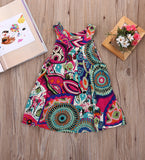 Floral Print Sleeveless dress | meemu.com | Kids fashion, accessories