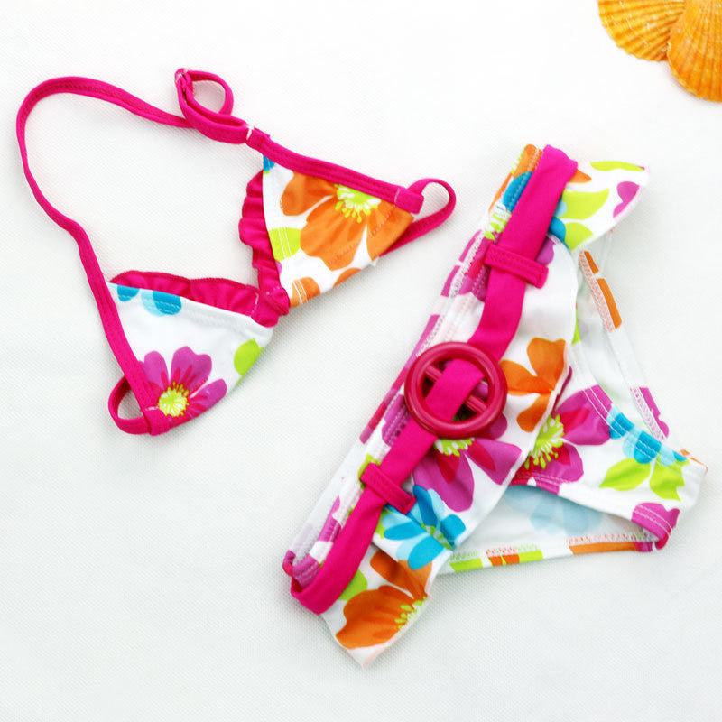 Floral Bikini | meemu.com | Kids fashion, accessories