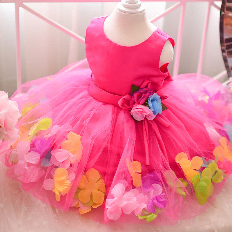 Petalicious Pinky Frock | meemu.com | Kids fashion, accessories