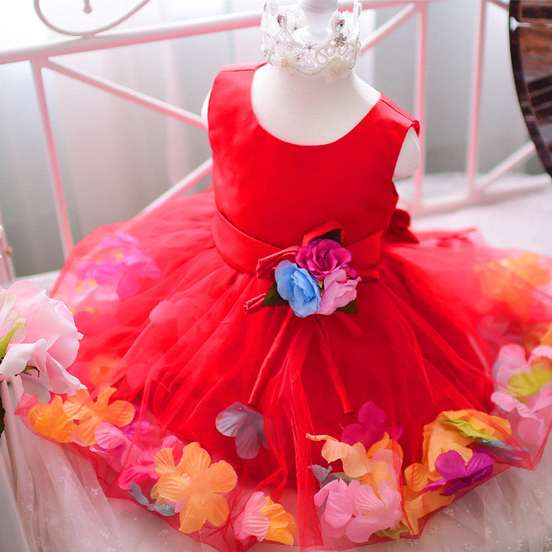 Red Floral Petals | meemu.com | Kids fashion, accessories