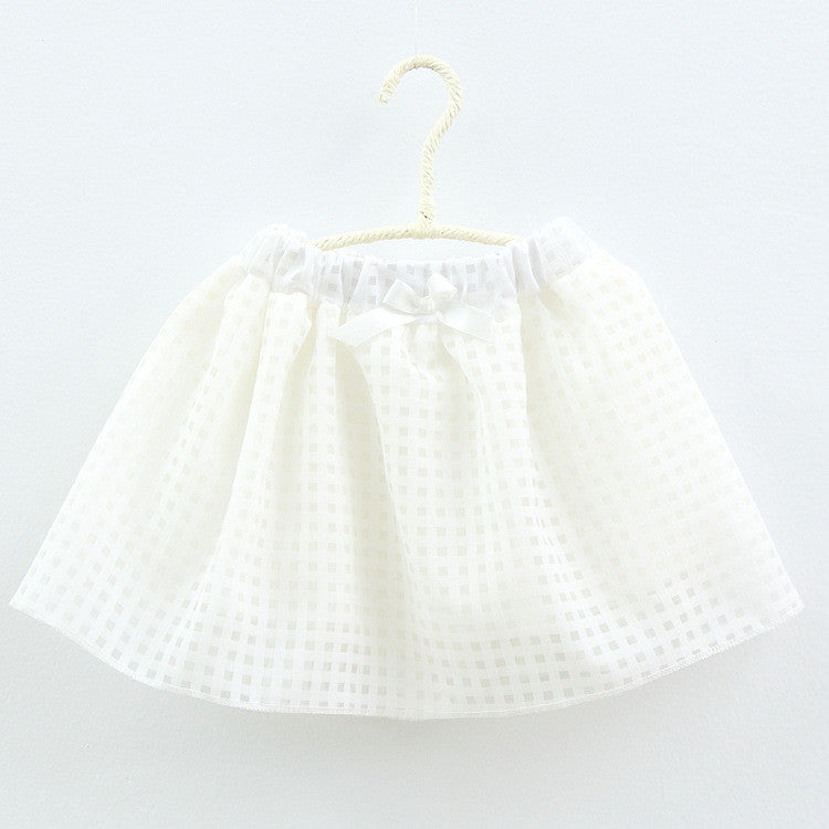 White Mesh Skirt | meemu.com | Kids fashion, accessories