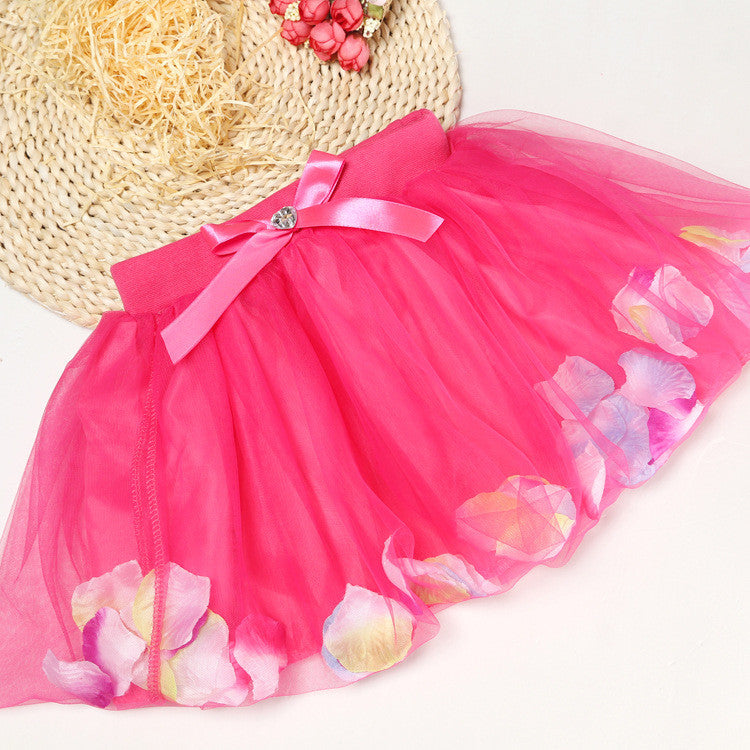 Pink Petal Skirt | meemu.com | Kids fashion, accessories