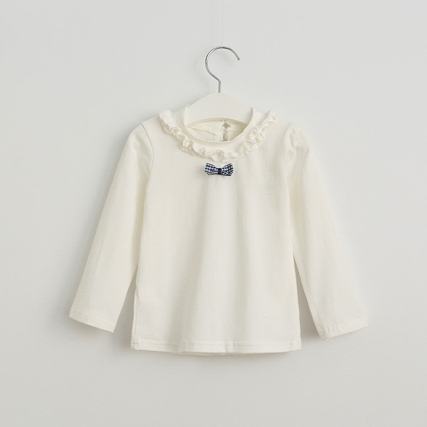 Cute White Bow Top | meemu.com | Kids fashion, accessories