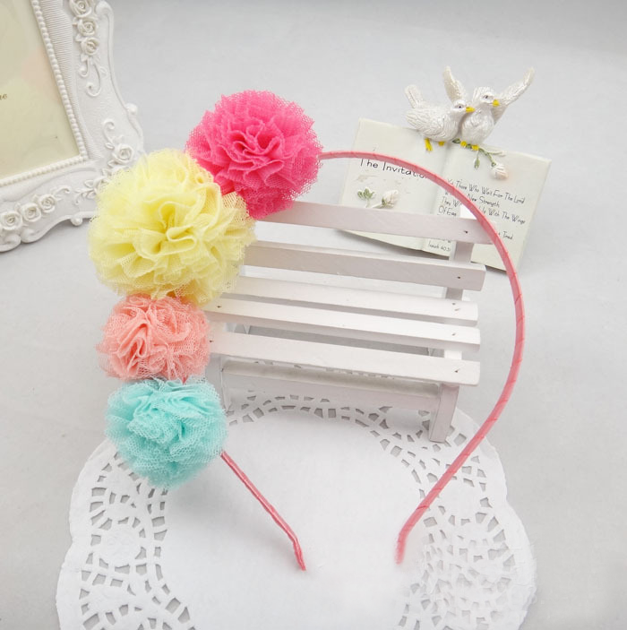 Colourful Pom Pom (Hairband) | meemu.com | Kids fashion, accessories