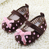 Brown Dotty Polka (Shoes)