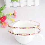 Colorful Beads Hair Band