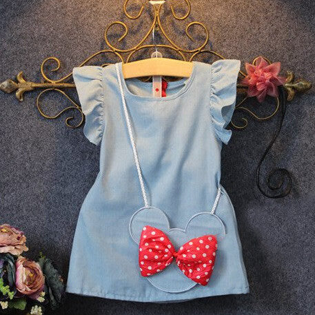 Stylish Minnie Bow Dress | meemu.com | Kids fashion, accessories