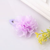 Bloom Flower Hair Band & Girls Hair Clip (4 pieces set) (Purple) | meemu.com | Kids fashion, accessories
