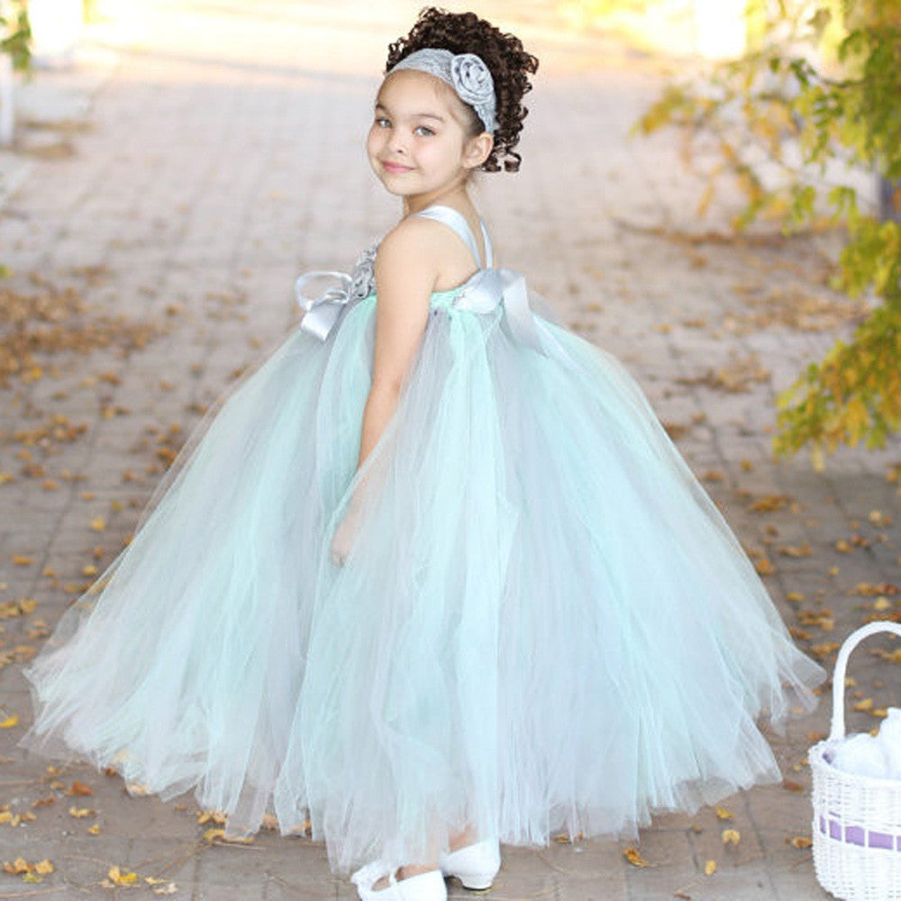 Royal Blossoms (Mint Green) | meemu.com | Kids fashion, accessories
