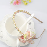 Floral Hairband with Bow & Crystals | meemu.com | Kids fashion, accessories