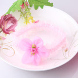 Flower Lace Head Band (Pink)