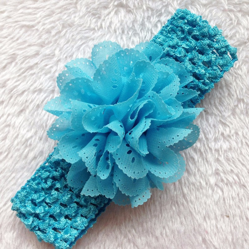 Flowery Experience Headband (Blue) | meemu.com | Kids fashion, accessories